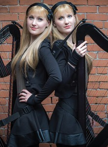 Internet sensations Camille and Kennerly, otherwise known as The Harp Twins, brought their unique talents to St. John's for an intimate performance.