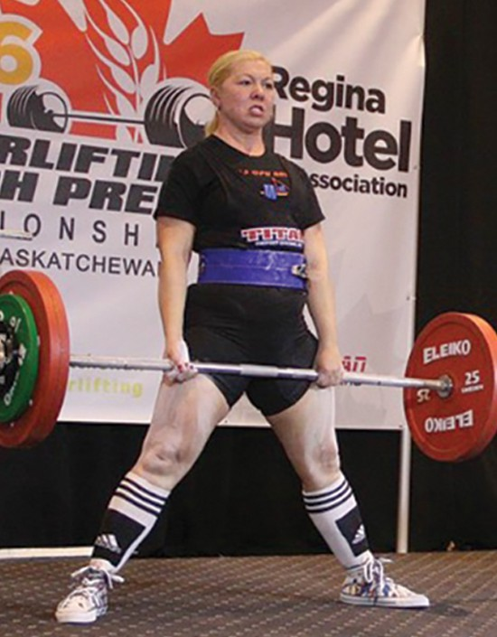 Newfoundland woman Gail Soper has proved her strength and then some, breaking records at a national powerlifting competition.