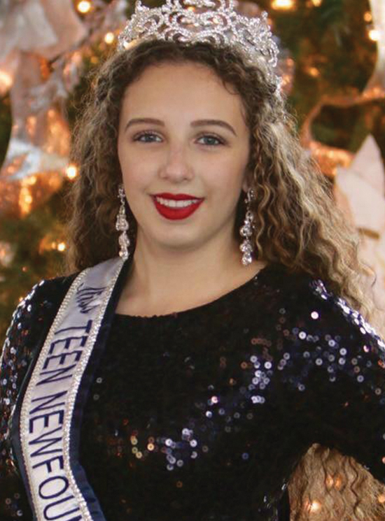 Miss Teen Newfoundland and Labrador Chanel Zhouri is using her platform to give back to the community through a noble endeavour.